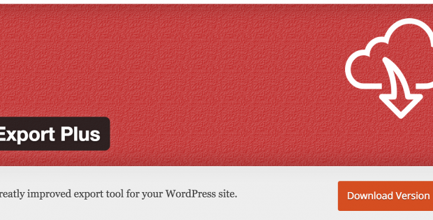 Plugin de Wordpress Export Plus