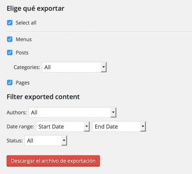 Export-Plus-un plugin-de-WordPress